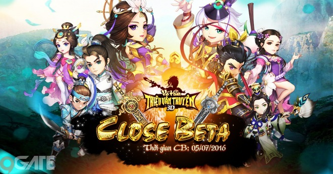 Võ Thần Triệu Vân Truyện tặng Giftcode nhân dịp ra mắt phiên bản Closed Beta