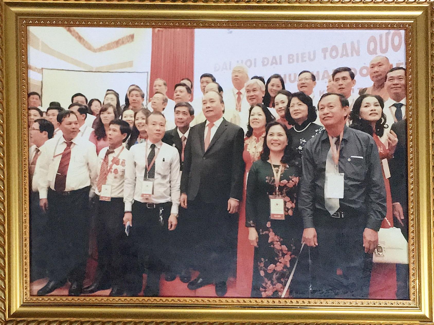 Chủ tịch HĐQT Công ty Giấy Hải Tiến tiếp tục được bầu vào BCH TƯ Hội chữ thập đỏ Việt Nam