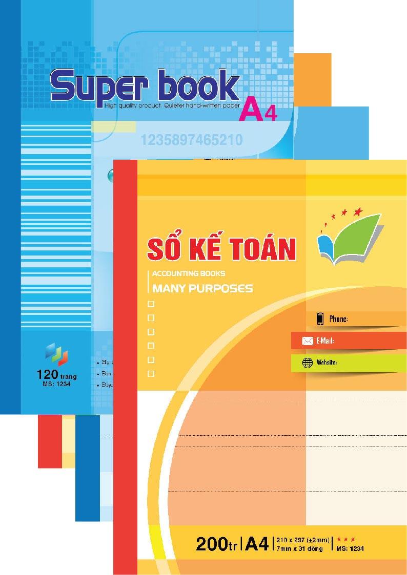 Sổ Kế Toán - Super Book