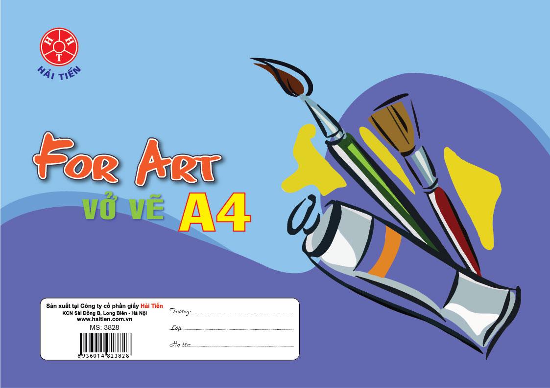 Vở vẽ A4
