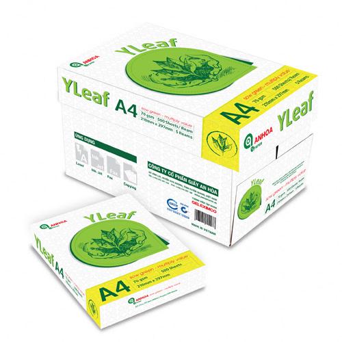 Giấy photocopy Yleaf A3, A4