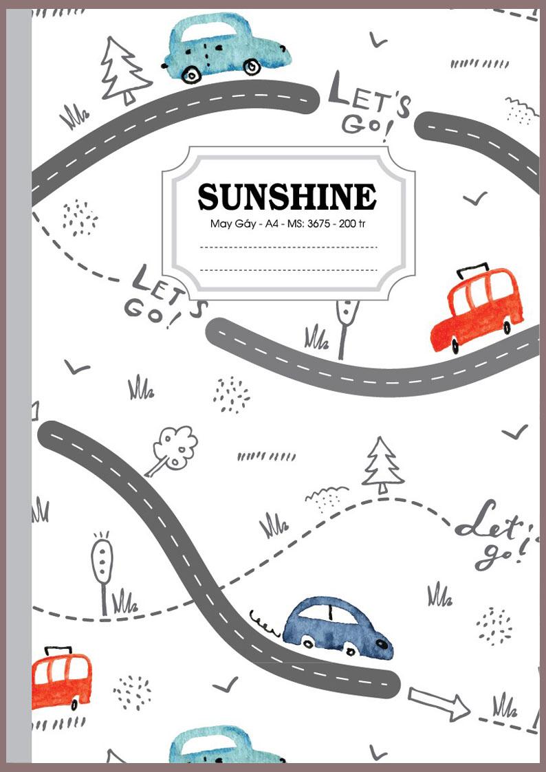 Sổ may gáy Sunshine