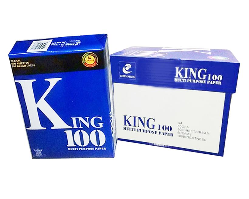 Giấy photocopy King 100