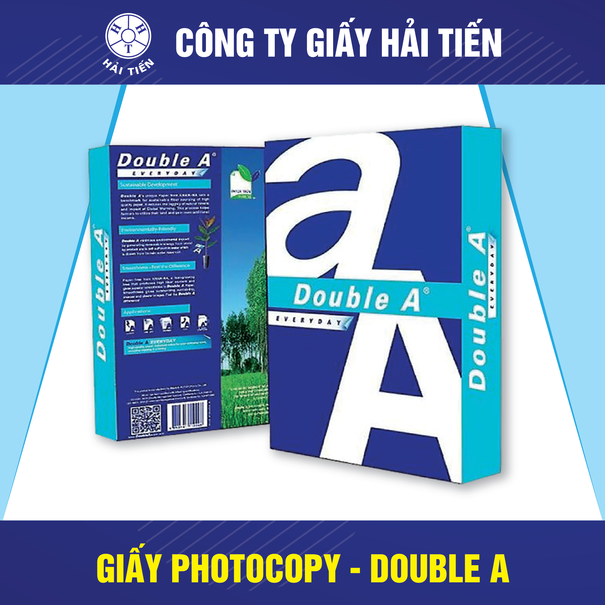 Giấy Photocopy Double A