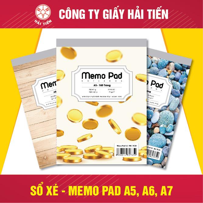 Sổ Xé - Memo Pad A5 - A6 - A7